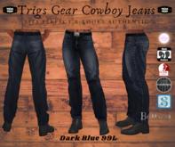 Trigs Gear Cowboy Jeans - Dark Blue Jeans - Men's Jeans