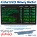 STC-Michelle's - Avatar Script Memory Monitor