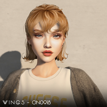 WINGS-HAIR-ON0918 Red (Pack)