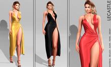 [LC] Augusta Slit Dress