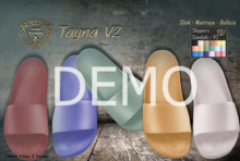 DEMO - Nala Design - Tayna Slide Slippers Sandals