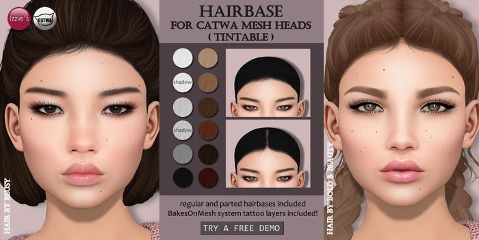 Izzie's - DEMO Hairbase (Catwa)