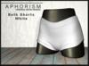 !APHORISM! - Beth Shorts - White