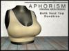 !APHORISM! - Beth Vest Top - Sunshine