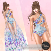 .:FlowerDreams:. Pia Lingerie - blue