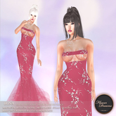 .:FlowerDreams:. Irina Gown - coral