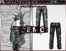 *IS DEMO* - Lora Cargos Furry   (Boxed)