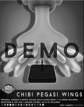 AMBIX || Chibi Pegasi Wings [DEMO]