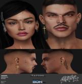 ONE 2K  - Tattoo face - UNISESEX - BOM system