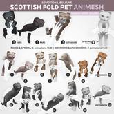 SEmotion Libellune Scottish Fold Pet Animesh #11