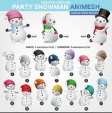 SEmotion Libellune Party Snowman Animesh #16