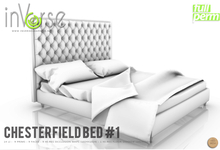 inVerse MESH - Chesterfield  bed #1   full permission bxd