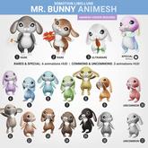 SEmotion Libellune Mr. Bunny Animesh #14