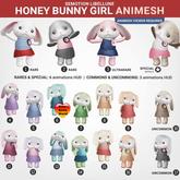 SEmotion Libellune Honey Bunny Girl Animesh #14