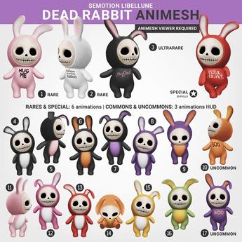 SEmotion Libellune Dead Rabbit #5