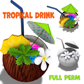 [ FULL PERM ] TROPICAL DRINK / COCONUTS