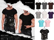 REINVENT I Rock t-shirt I FATPACK [Belleza Jake, Signature Gianni & Geralt, Legacy (male)]