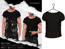 REINVENT I Rock t-shirt I Black [Belleza Jake, Signature Gianni & Geralt, Legacy (male)]