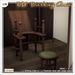 [V/W] Old Birthing Chair - Medieval fantasy / Vintage medical set for childbirth - Mesh furniture