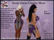 Noria Dress Cosmic Mess (ADD ME)
