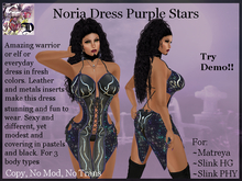 Noria Dress Purple Stars (ADD ME)