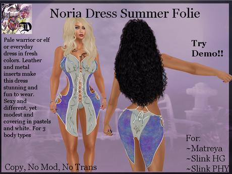 Noria Dress Summer Folie (ADD ME)