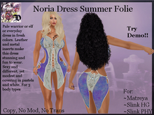Noria Dress Summer Folie (ADD ME)