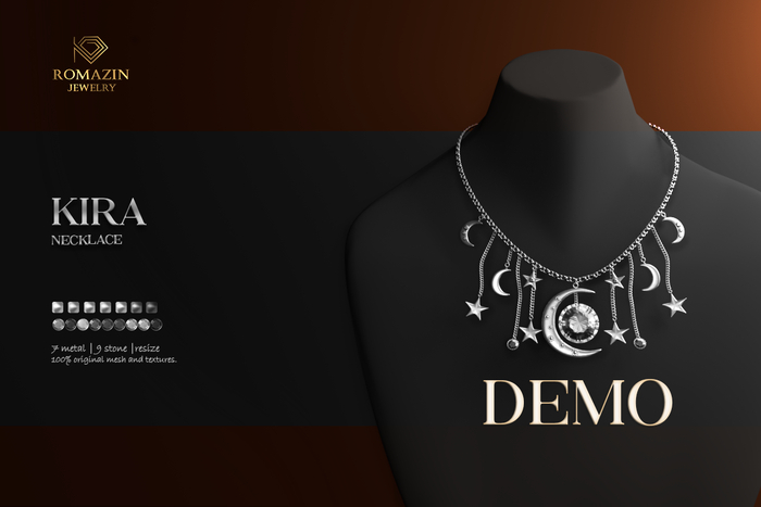Romazin - Necklace <Kira>, DEMO