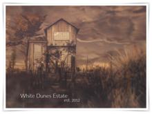 WHITE DUNES ESTATE *Photographer's  Cabin* EXCLUSIVE RENTAL