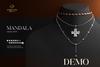 Romazin - Necklaces <Mandala>, DEMO