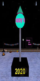 Second Life Marketplace - Animated New Years Eve Drop Ball 9 - 9