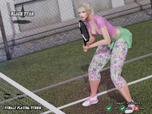 /BT/ Female playing tennis MP (BOXED)