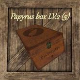 Papyrus box [LVL:2] (5) [G&S]