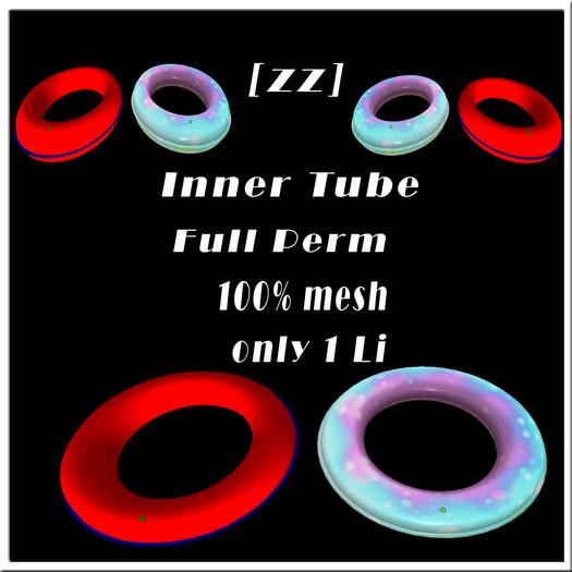 [zz] Inner Tube 100% mesh full perm + BONUS