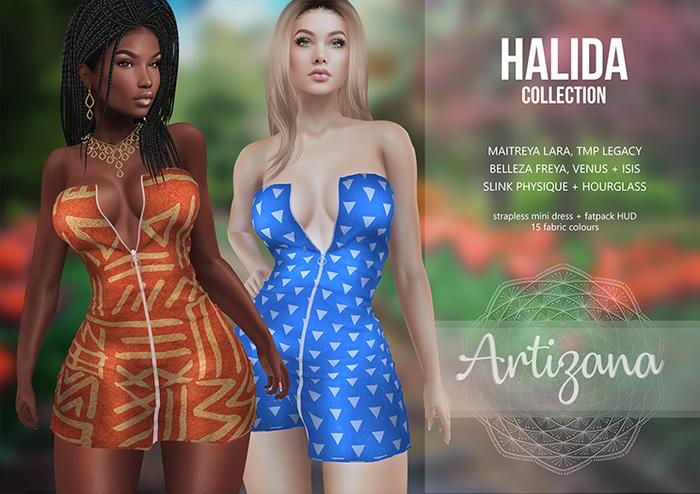 Artizana - Halida Collection - Mini Dress + Fatpack HUD
