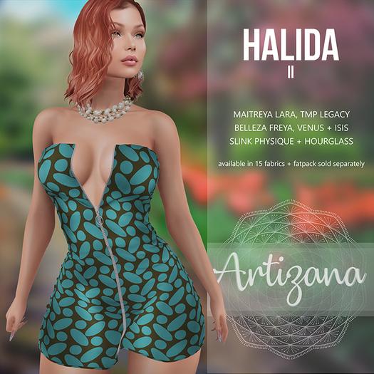 Artizana - Halida II - Mini Dress