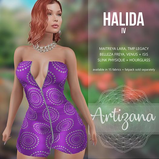 Artizana - Halida IV - Mini Dress