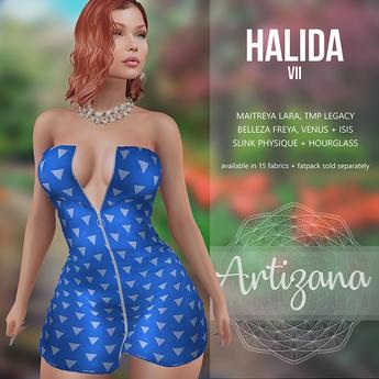 Artizana - Halida VII - Mini Dress