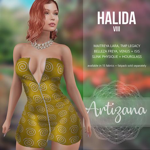 Artizana - Halida VIII - Mini Dress