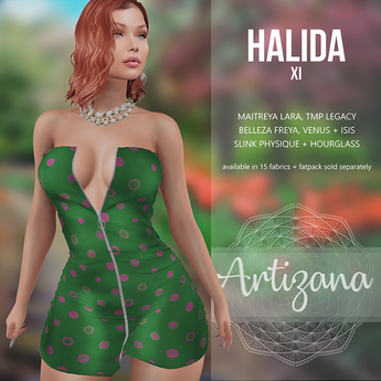 Artizana - Halida XI - Mini Dress