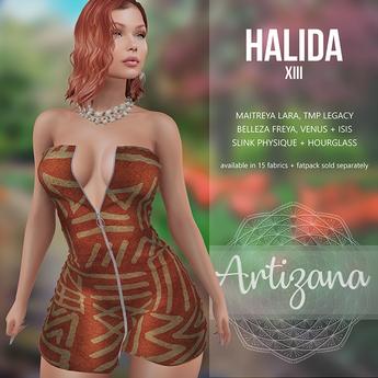 Artizana - Halida XIII - Mini Dress