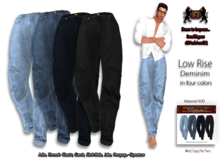 69ParkAveGQ Low Rise Denims  Jeans - Adin, Fitmesh Classic, Gamit, Slink Male, Jake, Onupup, Onupup - Signature