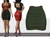 Tony Esso - It's A Love Story Skirt (Olive)