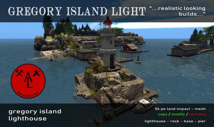 AL Gregory Island Lighthouse