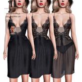 Thalia Heckroth - Angelina dress BLACK