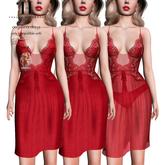 Thalia Heckroth - Angelina dress RED