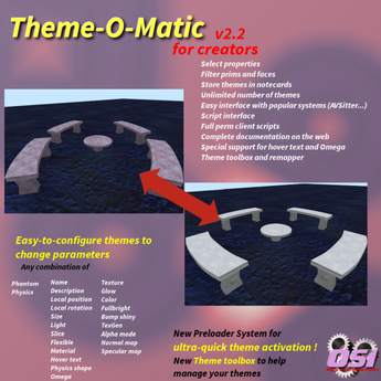 Theme-O-Matic / Texture (+more) change system - mesh and materials supported