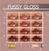 DRAFT Pigments. - Fussy Gloss Set