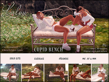 -{ Lalou }- Cupid Bench - solo, cuddles (PG)