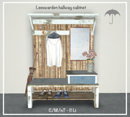 S-design Hallway cabinet Leeuwarden c/m Boxed